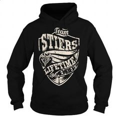 Team STIERS Lifetime Member (Dragon) - Last Name, Surname T-Shirt - #gifts for guys #gift for women