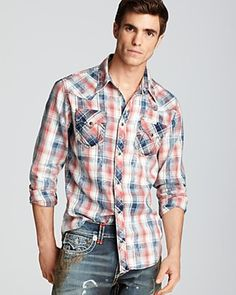 True Religion Western Sport Shirt - Slim Fit | Bloomingdale's