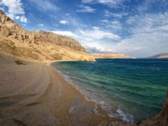 Photograph Lonely coast by Aleš Komovec on Pag Croatia Destinations, Croatia Travel, Wonderful Places, Beautiful Places, August Holidays, What A Beautiful World, Southern Europe, Paradise On Earth, Strand