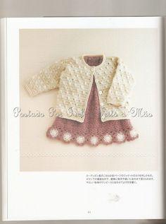 Ivelise Feito à Mão: Casaco De Bebê Em Crochê....