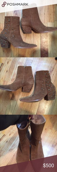 Kate bosworth Matisse charlotte star studded boots Size 9 matisse Shoes Ankle Boots & Booties