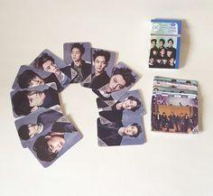 EXO-KPOP MEMBER Official Goods Photo Message Card(30PCS) EXO PHOTO CARD *NEW*