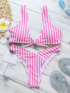 8134b91cce83d Frigirl Sweet Honey Padded Striped Bikini Set  Frigirl  Bikibi  Swimwear   Fashionable