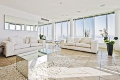 Bright and White Penthouse
