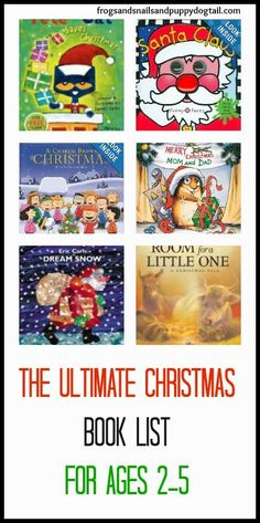 The Ultimate Christmas Book List for Ages 2-5 - and it could easily include Santa's (Zany, Wacky, Just Not Right!) Night Before Christmas!
