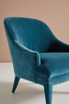 Slide View: 8: Elowen Velvet Chair