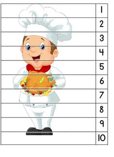Bakeries, 9 And 10, Worksheets, Kindergarten, Restaurant, School, Children, Character, Kids Learning Activities
