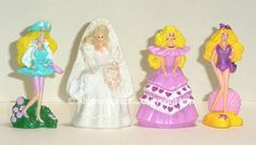 Barbie - McDonald's Toys!! I still currently own these also!