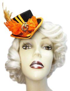 Orange Spice Mini Victorian Steampunk by JenkittysCloset on Etsy