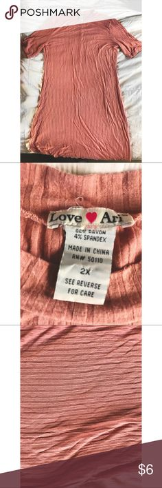Love Art loose fitted Midi Soft, can be worn as a snug fit, or worn loosely. Love Art Dresses Midi