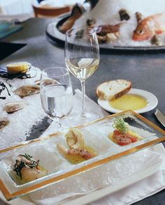 8 Top Chef Finalists Share Their Dream Wedding Menus: Over-the-top raw bar