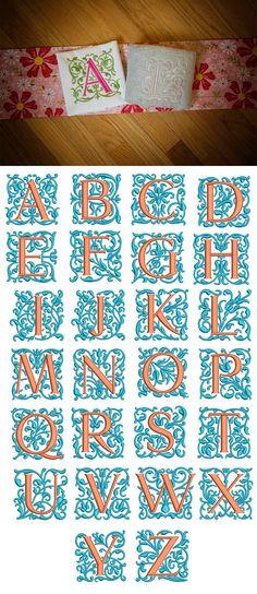 Gracie Monogram design set is available for Instant Download at designsbyjuju.com