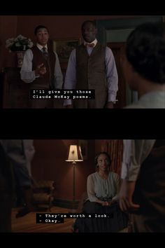"Reference to the poems of Claude McKay in Boardwalk Empire season three, episode two (""Spaghetti & Coffee"") http://www.nypl.org/blog/2012/06/01/bookshelves-boardwalk-empire"