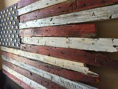 Wooden Flag, Barn Wood American Flag, wooden American flag, wood American flag…