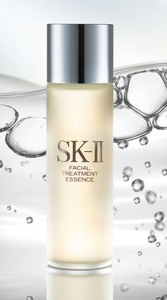 SK-II facial Treatment because it has fermented something!