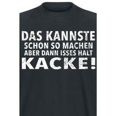 Das kannste schon so machen T-Shirt schwarz • online kaufen • EMP