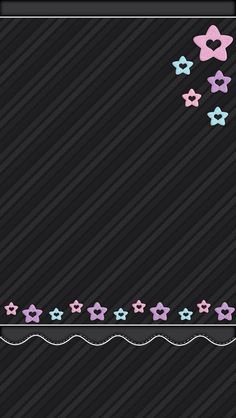 Black with Stars Wallpaper
