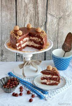 Schokoladen-Haselnuss-Torte