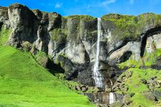 #Wasserfall in Island, #Island
