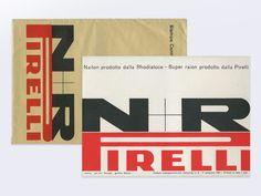 Pirelli brochure, Bob Noorda