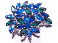 Blue broach