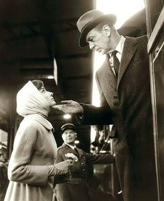 "Audrey Hepburn and Gary Cooper - ""Love in the Afternoon""."