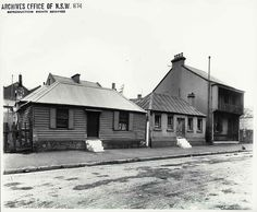 85 - 89 Princes Street, Sydney (NSW) Rocks Resumption photographic survey. State Records NSW - Photo Investigator The Rocks Sydney, House On The Rock, Historical Images, Vintage Photographs, Ancestry, Old Photos, Art Ideas, Old Things, Lost
