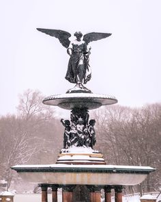 Bethesda Fountain Winter Wonderland. Snow Day at Central Park Manhattan New York Central Park Manhattan, Manhattan New York, Bethesda Fountain, 3 Arts, From The Ground Up, Buy Frames, Printing Process, Winter Wonderland, Gallery Wall