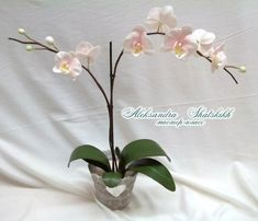 цветы из фоамирана мастер класс с пошаговым фото орхидея