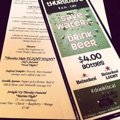 P.S! It's #flightnight at the #PO! #Heineken specials and more! #drinklocal #eatlocal #longislandfoodie