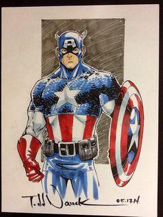 Captain America by Todd Nauck