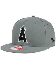 ba6c3187650 New Era Los Angeles Angels of Anaheim Gray Black White 9FIFTY Snapback Cap  Men - Sports Fan Shop By Lids - Macy s