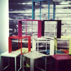 I'll take one in every color! Tables at Nucraft #NeoCon12 #neoconography  -- @Lisa__Fay