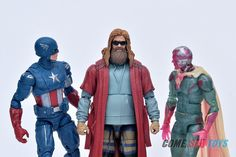 The Avengers Marvel Legends Series Captain America 12-Inch Offiziell Brandneu