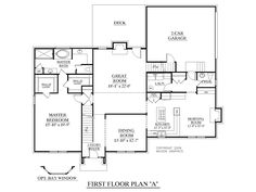 Modular Floor Plans With First Floor Master