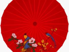 Oriental Silk Umbrella