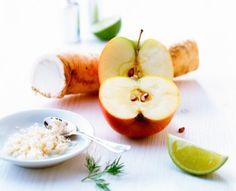 Against runny nose: That's why apple and horseradish video help Cold Home Remedies, Runny Nose, Sweet And Spicy, Taste Buds, Dip, Make It Yourself, Fruit, Healthy, Food