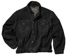 Port Authority Mens Authentic Denim Snap Down Jacket J762
