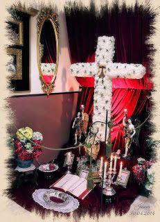 El Rincón Cofrade: Almeria. Una Cruz de mayo muy Carmen.