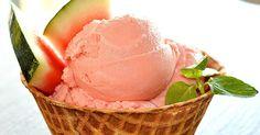 melounová zmrzlina s kokosovým mlékem