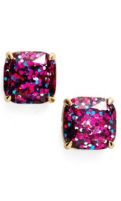 Glitter studs by #katespade - On sale for $24.90 at the #nSale