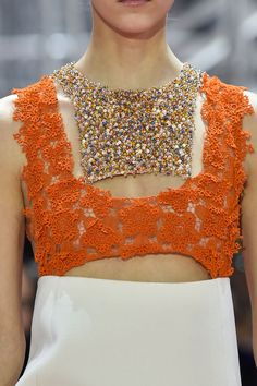 Christian Dior at Couture Spring 2015 - StyleBistro