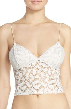 847f24a749 Free People  Brami  Longline Lace Bralette available at