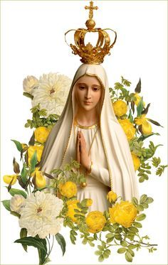 Thesauro Precum: NOVENA A NOSSA SENHORA DE FÁTIMA - 2015 Lady Of Lourdes, Lady Of Fatima, Religious Pictures, Jesus Pictures, Blessed Mother Mary, Blessed Virgin Mary, I Love You Mother, Novena Prayers, Christian Artwork