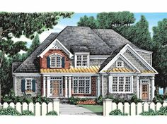 Eplans Country House Plan - Standing Proud - 2550 Square Feet and 4 Bedrooms(s) from Eplans - House Plan Code HWEPL10551