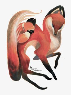 Gouache illustration on Behance