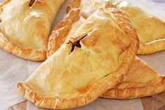 Curried lentil and pumpkin pasties