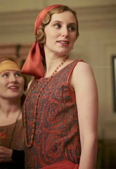 Edith at the London Party {Season 4}