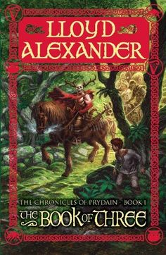 The Book of Three by Lloyd Alexander.  I tried to read this when I was 10 years old and wasn't interested...I have no idea why now that I've read it.  I suppose my 10 year old self was far too obsessed with The Baby-sitters Club for her own good.