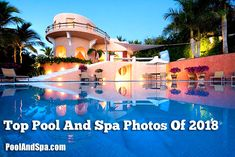 Top 10 Pool And Spa Photos Of 2018 - Travel tips - Travel tour - travel ideas Going On Holiday, Holiday Fun, Travel Tours, Travel Ideas, Malibu Homes, Cool Swimming Pools, Residential Architecture, Holiday Destinations, Cool Photos